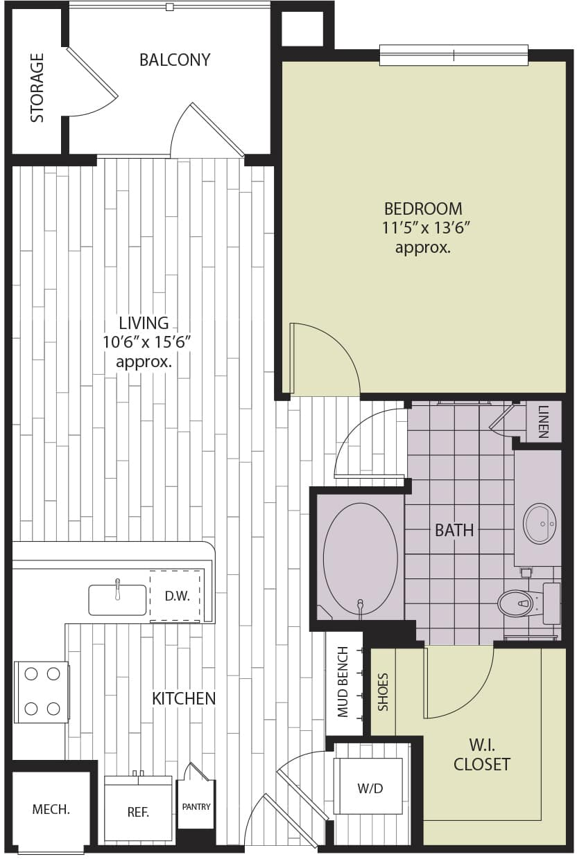 Floor plan A1j