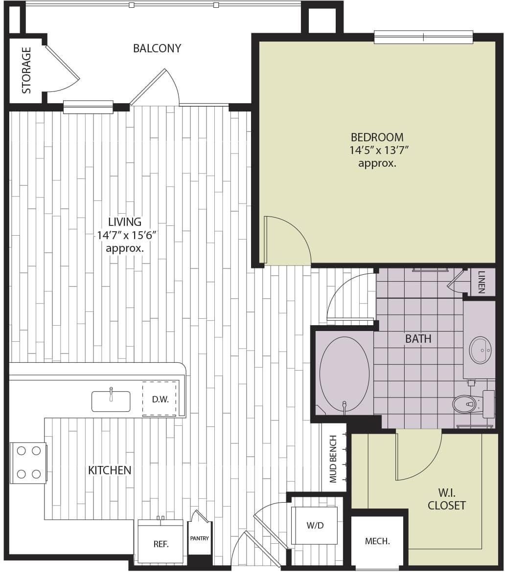 Floor plan A1f