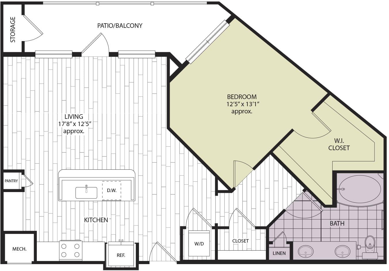 Floor plan A2c