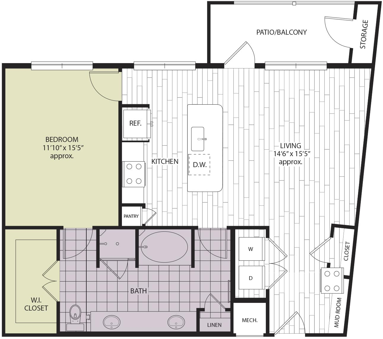 Floor plan A3b